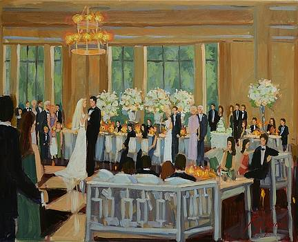 Pitt- Sims Wedding, Atlanta History Center, GA,  www.ronaldbayens.com by Ronald Bayens