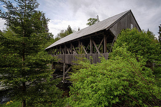 Pittsburg Clarksville Covered Bridge by Lance King