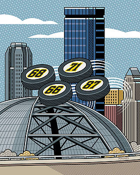 Ron Magnes - Pittsburgh Civic Arena