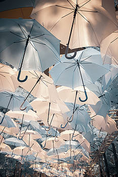Pittsburgh Infrared Umbrellas by Steve Konya II