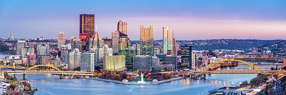Pittsburgh skyline by Mihai Andritoiu
