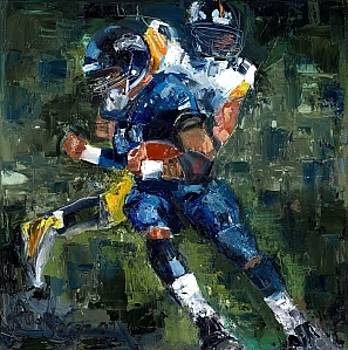 Rugby and Superbowl Paintings Gallery. - Artwork for Sale ...