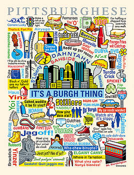 Pittsburghese by Ron Magnes