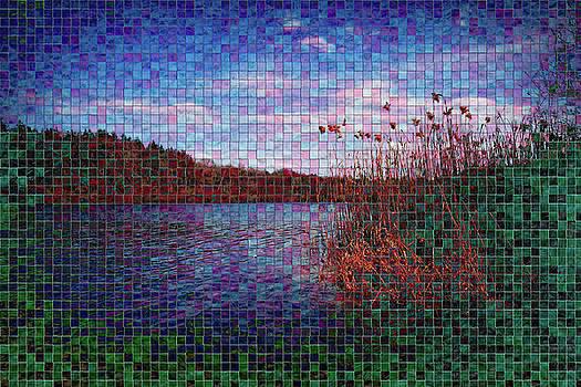 Pixel Lake by Chris Hood