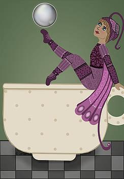 Pixie Tea Cup by Lee DePriest