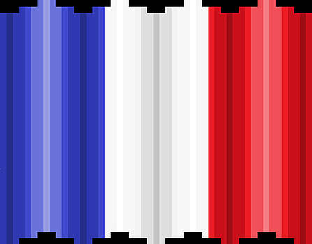Pixilated Tricolore by Gerald Lynch