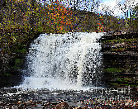 Pixley Falls 2 by Diane E Berry