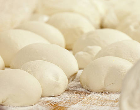 Pizza Dough Rising by Tonya Cooper