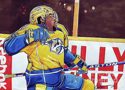PK Subban by Dave Olsen