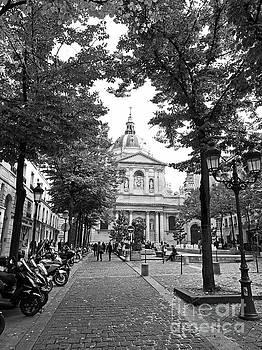 Place de la Sorbonne by Alex Cassels