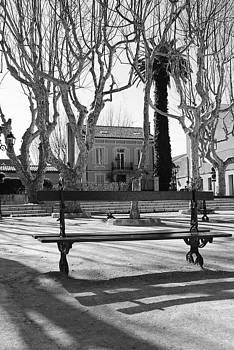 Place des Lices Saint - Tropez by Tom Vandenhende