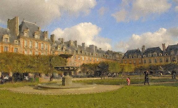 Mick Burkey - Place des Vosges