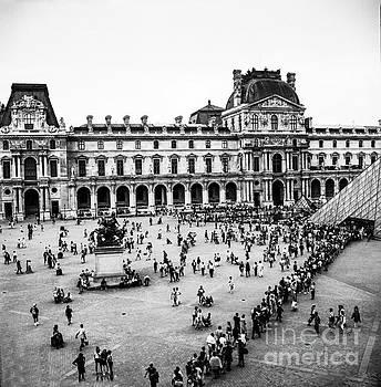 Cyril Jayant - Place du Louvre near Pyramids In Paris.