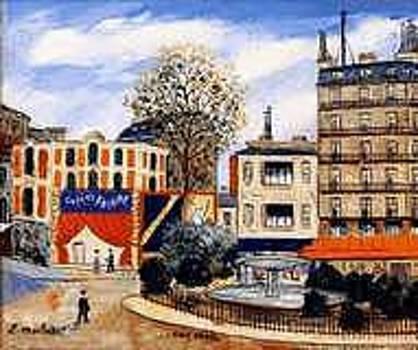 Place Pigale a Paris by Elysee MACLET