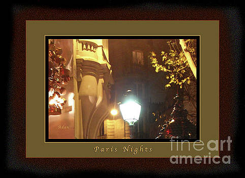 Felipe Adan Lerma - Place St Michel to Rue Saint-Andre des Arts Greeting Card and Poster