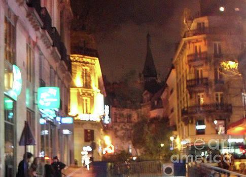 Felipe Adan Lerma - Place St Michel - West To Eglise Saint Severin Detail