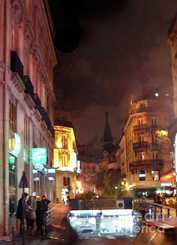 Felipe Adan Lerma - Place St Michel - West To Eglise Saint Severin Vertical