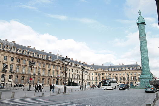 Place Vendome by Christopher Kirby