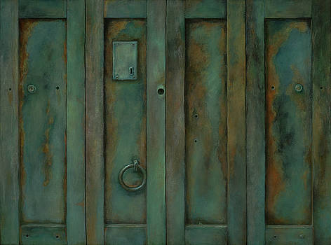 Placerville Iron Doors by Sheri Hoeger