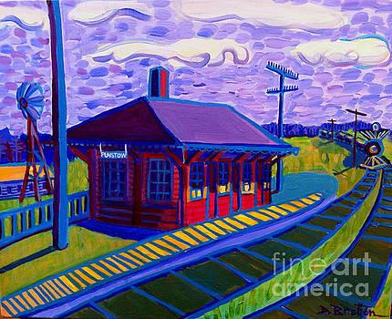 Plaistow Train Station by Debra Bretton Robinson