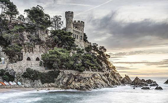 Plaja Castle, Lloret de Mar by Marc Garrido
