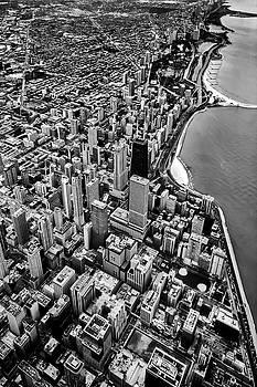 Plane view of Chicago by Sven Brogren