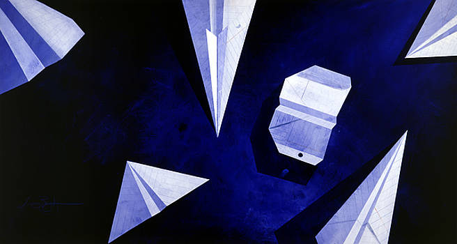 Planes on Blue by Lucas Boyd