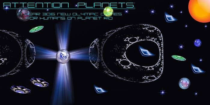 Planet Rio by Romuald  Henry Wasielewski