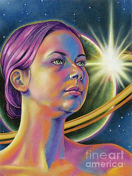 Planetary Princess by Adesina Artist