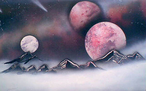 Planets and Fog by Jonathan Munden