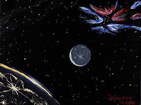 Planetshine and Nebula by James Scotti