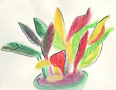Suzanne  Marie Leclair - Plant with Vase