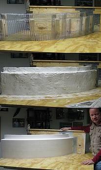 Plaster Turning by Patrick RANKIN