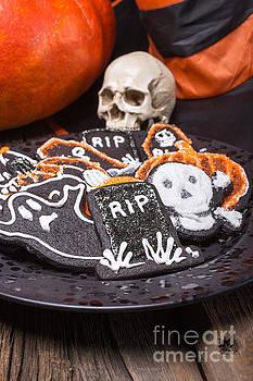 Edward Fielding - Plate of Halloween Sugar Cookies