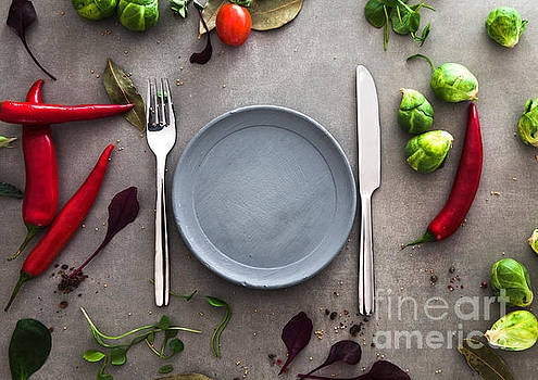 Mythja Photography - Plate with vegetables