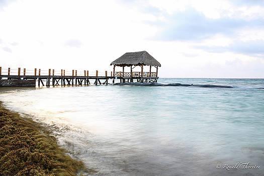 Playa Del Carmen Beach by Ron Thornton