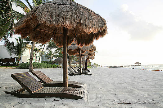 Playa Del Carmen by Ron Thornton