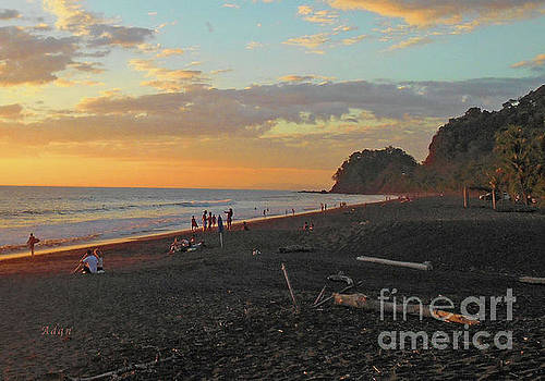 Felipe Adan Lerma - Playa Hermosa Puntarenas Costa Rica - Sunset A One Detail One
