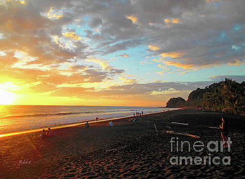Felipe Adan Lerma - Playa Hermosa Puntarenas Costa Rica - Sunset A One
