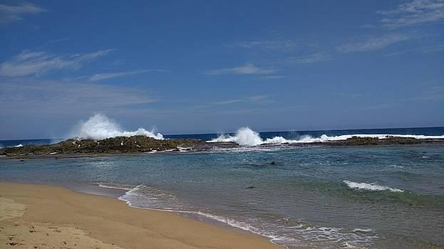 Playa Poza Sardineras Isabela, Puerto Rico by Sheryl Chapman Photography