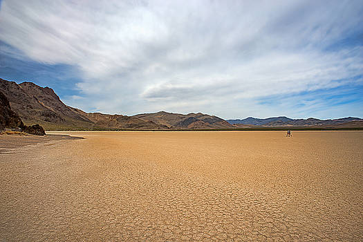 Dana Sohr - Playa Racetrack - Death Valley