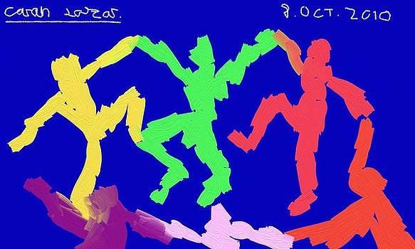 Playful Colors by Lazar Caran