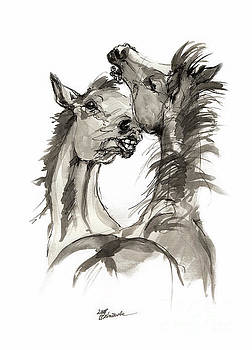 Angel Ciesniarska - Playful foals