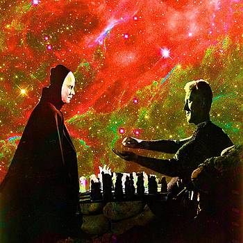 Playing chess with Death by Matthew Lacey