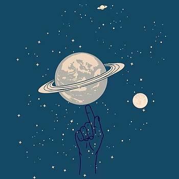 Playing Planet #art #artwork #artworth by Dadi Setiadi