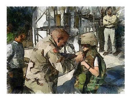 Playing Soldier by Sylvia Morgan