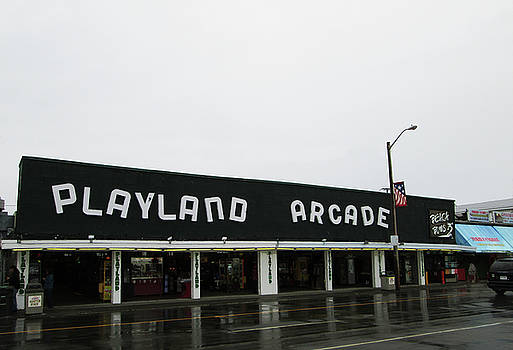 Playland Arcade by Mary Capriole