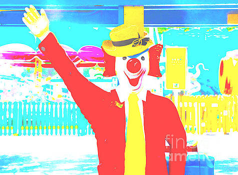 Playland Clown by Dan Hilsenrath