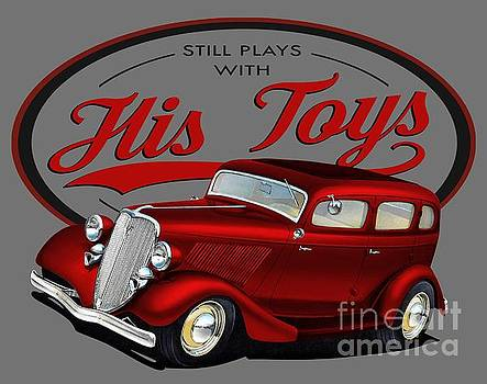 Plays with His Fords by Paul Kuras