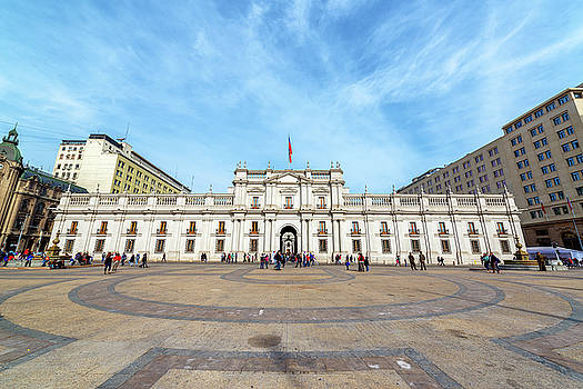 Plaza and Presidential Palace by Jess Kraft